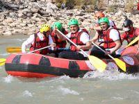 Hakkari Zap Suyu'nda Türkiye Rafting Şampiyonası heyecanı