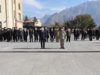 Hakkari'de 29 Ekim Cumhuriyet Bayramı kutlamaları