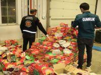 Yüksekova'da Hurma kutularında 50 kilogram eroin ele geçirildi