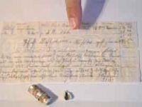 I. Dünya Savaşı'nda bir askerin posta güverciniyle gönderdiği mesaj bulundu