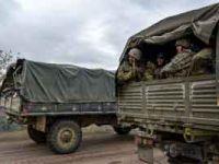 Azerbaycan ordusu Ermenistan'ın çekildiği ilk bölge olan Ağdam'a girdiğini açıkladı