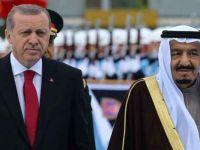 Erdoğan, Suudi Kralı Selman ile görüştü