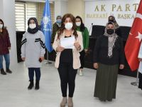 AK Parti Hakkari Kadın kollarından Kadına yönelik şiddetle mücadele günü açıklaması