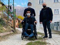 Başkan Aydoğdu, Engellileri sevindirmeye devam ediyor