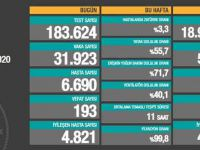 Türkiye'de koronavirüsten 193 kişi hayatın kaybetti