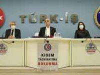 Türk-İş Genel Başkanı Atalay'dan asgari ücret açıklaması