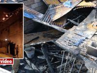 Hakkari'de evleri yanan aile yardım eli bekliyor