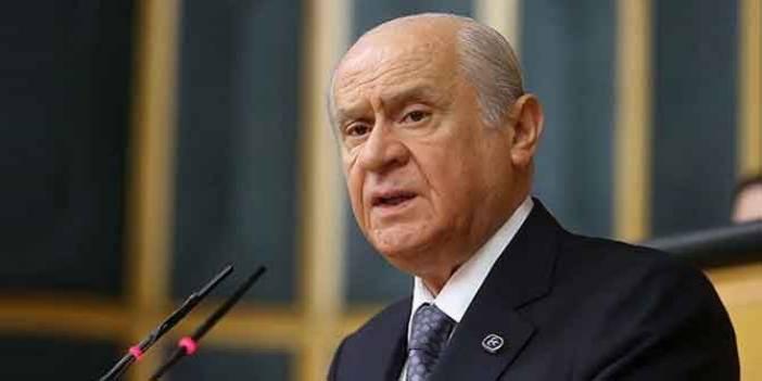 Bahçeli: MHP'yi şiddet yanlısı göstermek, ahlaksız bir suçlamadır