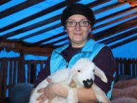 Hayallerinin peşinden giderek çiftliğini kurdu