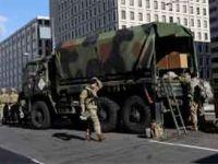 """ABD'de en az 12 asker """"güvenlik kaygıları"""" nedeniyle yemin töreninde görev yapacak ekiplerden çıkartıldı"""