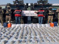 Jandarmadan operasyon: 99 kilo eroin ele geçirildi