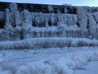 Eksi 25 derecede, buzulları aratmayan görüntüler