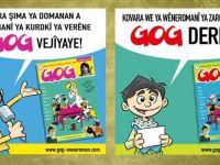İlk Kürtçe çizgi roman çocuk dergisi GOG yayına başladı
