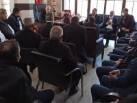 Muhtarlardan Başkan Özbek'e tebrik ziyareti!