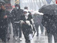 Hakkari'de mart ayında kar etkili oldu