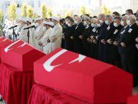 11 şehit için Ankara'da devlet töreni düzenlendi