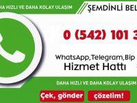 Şemdinli Belediyesi WhatsApp İhbar Hattını Kurdu
