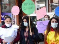 Hakkari'de KESK'li Kadınlar 'Kadınlar Günü'nü Kutladı