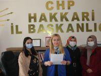 CHP Hakkari Kadın Kolları Başkanı Çivi'den 8 Mart mesajı