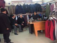 Ak Parti il Başkanı Nurettin Fırat Esnafı Ziyareti etti
