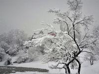 Mart Ayında Hakkari'de Kar Yağışı Etkili Olmaya devam ediyor