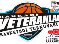 Hakkari'de Vetranlar basketbol turnuvası başlıyor