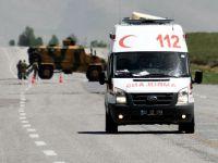 Patlama: 2 asker  şehit 7 asker yaralı