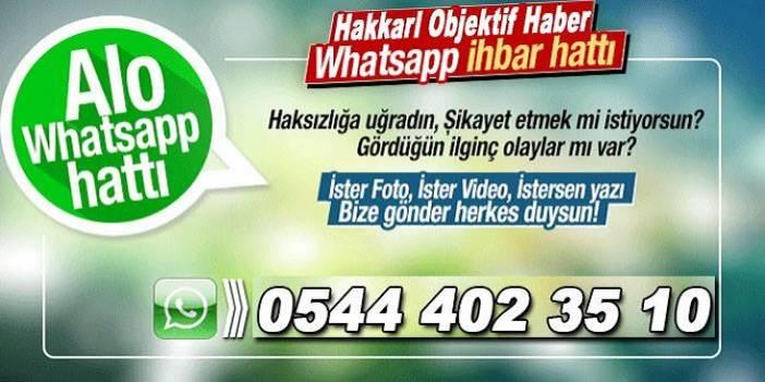 WhatsApp İhbar ve Şikayet Hattı