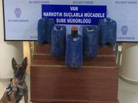 Hakkari-Van karayolunda 157 kilo 340 gram likit eroin ele geçirildi
