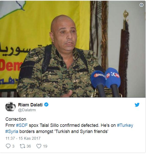 DSG Sözcüsü Sülo, ÖSOya sığındı
