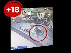 Van AVM'deki intihar kameralara böyle yansıdı