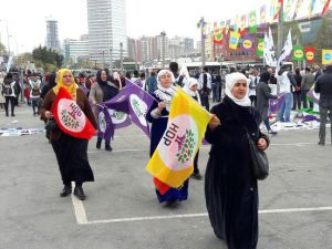 İstanbul'da HDP mitingi