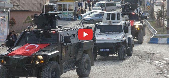 Hakkari'de sirenler bu kez Polis için çaldı