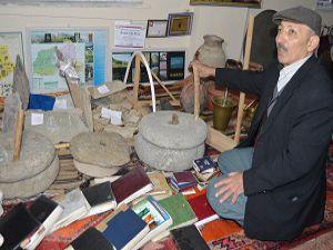 Müzesi, olmayan Hakkari'de kendi imkanlarıyla müze açtı