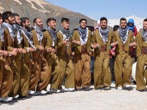 Hakkari'de 2. kar festivali düzenlendi