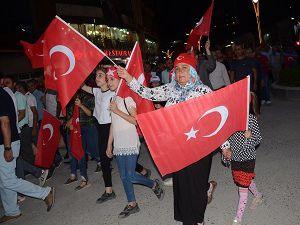 """Hakkâri'de """"Demokrasi ve Millî Birlik Günü""""programı düzelendi"""