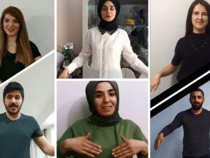 Hakkari'deki Öğretmenler, Dünya Engelliler Gününe özel klip yayınladı